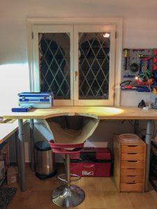 Esta es mi mesa de joyero