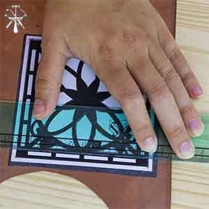 Transferir una plantilla a un metal para su calado en joyería online